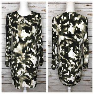 Simply Vera Wang Blurred Camouflage Shift Dress M